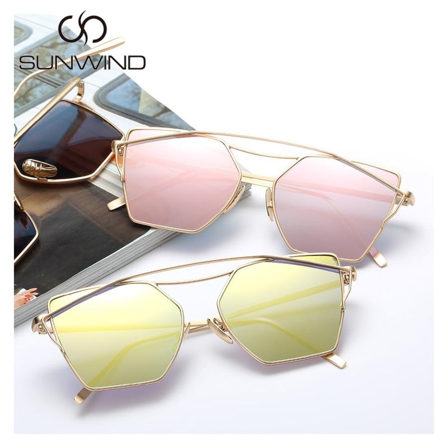 Zonnebrillen Dames Merk Designer Fashion Vierkante zonnebril Retro - Kledingaccessoires