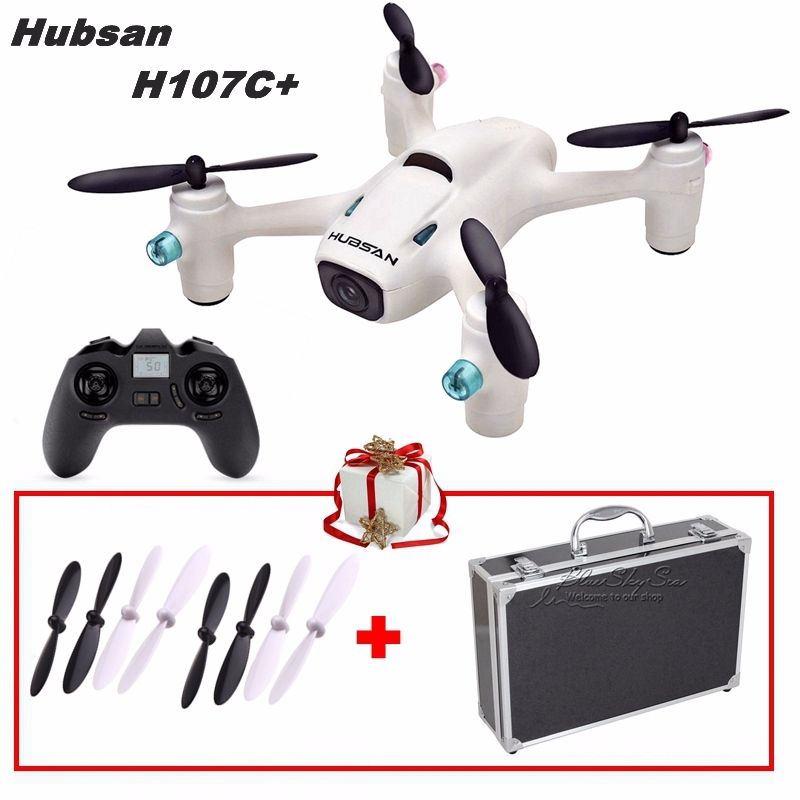 Free Shipping Hubsan X4 Cam Plus H107C 2 4G 4CH 720P Camera RC Drone w Traveling
