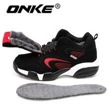 Onke/зимние тапки Сапоги и ботинки для девочек Для мужчин Кроссовки открытый Для женщин спортивные снегоступах Водонепроницаемый Спортивная обувь для мужчин Обувь на теплом меху Zapatillas 692