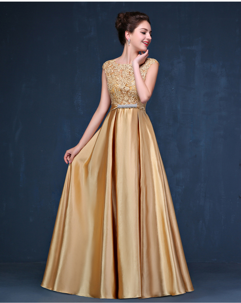 Popular Long Gold Sequin Dress-Buy Cheap Long Gold Sequin Dress ...