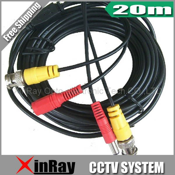20M BNC Power video Plug and Play Cable for CCTV camera XR-C3