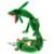 Hot 80 cm Nueva Meter lun Rayquaza Dragón Juguetes de Peluche, Verde Dragón Juguetes de Peluche Muñeca Suave Animales de Peluche Juguetes Brinquedos