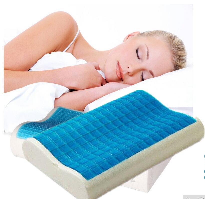 New Memory Foam Orthopedic Sleep Blue Cooling Comfort Gel
