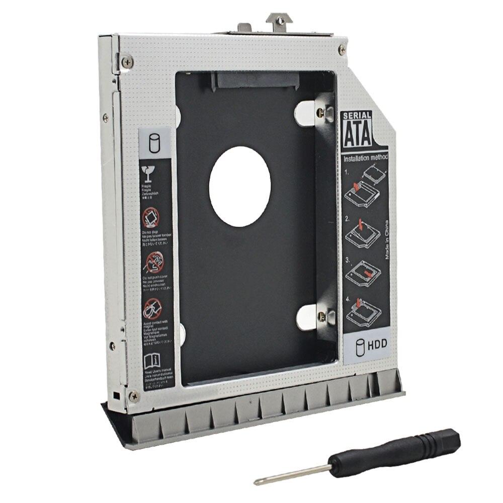 For HP EliteBook 8470P 8460W 8460P 8470W 2nd HDD Caddy 12 7mm SATA