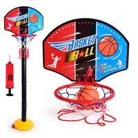 Kids Outdoor Basketball Hoop Toy Set Adjustable Outdoor Indoor Basquete Tabela Activity Game Portable Basketball Backboard Toys