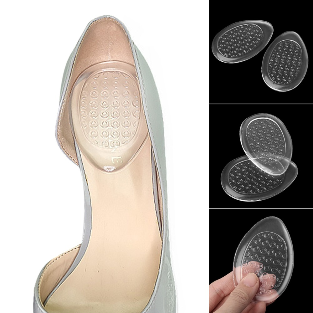 Heel Pads Women Shoe Pad Plantar Silicone Invisible Support Cushion Insole High Heel Universal Gel Insert Pain Relief Hot New
