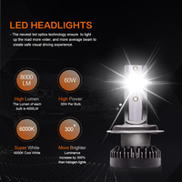 מנורות לרכב FUXUAN 2pcs H7 LED 100W / זוג מיני רכב פנס נורות H1 LED H7 H8 H9 H11 פנסים קיט 9005 HB3 9006 HB4 לרכב LED מנורות (4)