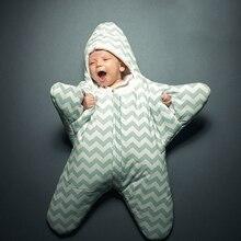 RP 057 2020 heißer verkauf baby schlafsack baby schlafsack starfish winter neugeborenen kinderwagen bett swaddle decke wrap cartoon bettwäsche
