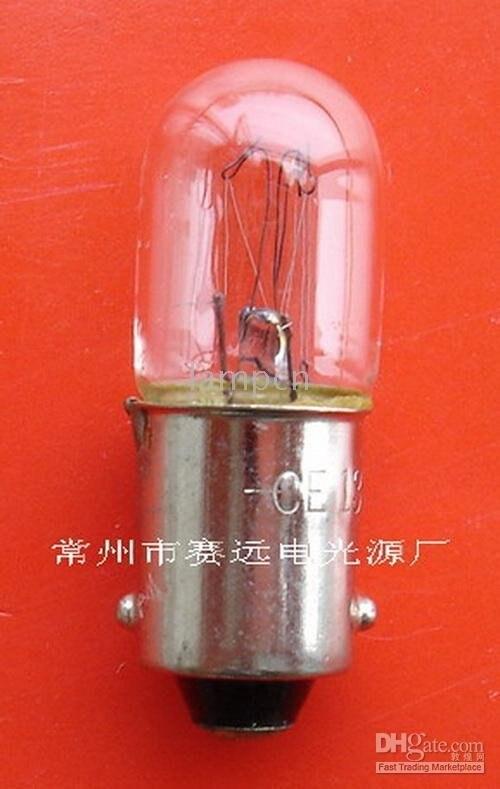 NOVÝ! miniaturní lampa ba9s t10x28 130v 20ma a116