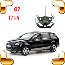New Year Gift 1/14 Q7 RC Racing SUV Car Remote Control Truck Electric Toy Big Jeep Collection Drift Fun For Car Fans Present
