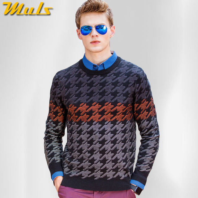 100% cotton sweater men pullover for man Autumn Winter Male ...