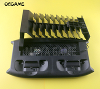 OCGAME Vertical Charging Stand Cooling Fan with 18 Discs Storage Tower Mount Dualshock for Xbox One X Game Console