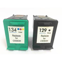 Vilaxh 129 134 compatible Ink Cartridge Replacement For HP for hp134 Deskjet 6943 6983 5943 D4163 8053 8753 2573