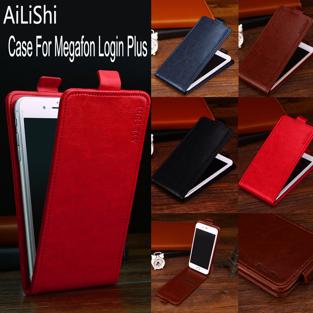 AiLiShi Factory Direct! Case For Megafon Login Plus Leather