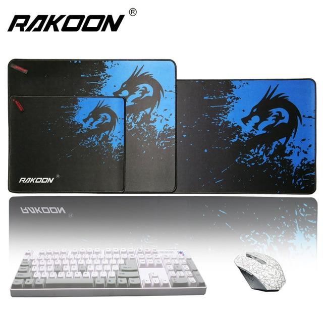 Rakoon скорость/Управление версия большой игровой коврик для мыши геймер запирающийся край мыши клавиатуры коврик большой Настольный коврик для мыши для CSGO Dota 2 LOL