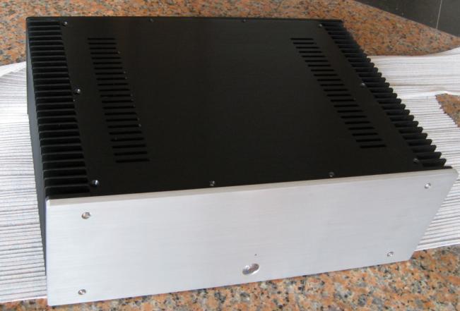 Все Алюминий 430 усилитель шасси класса A корпус усилителя корпус DIY box (430*150*314 мм)