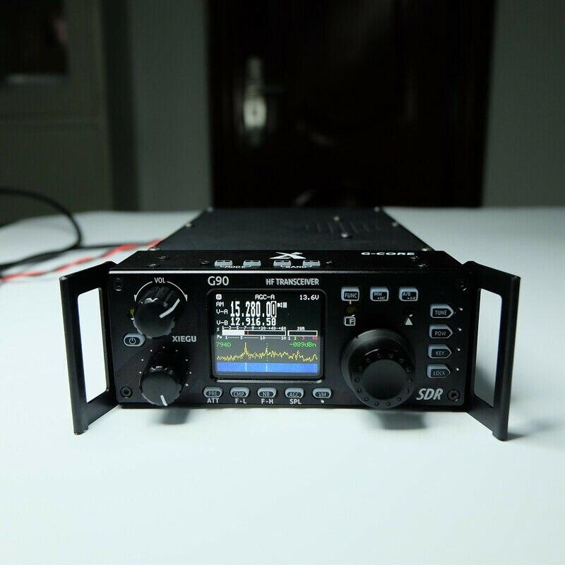 Émetteur-récepteur Radio Amateur Xiegu G90 HF 20W SSB/CW/AM/FM 0.5-30MHz avec Tuner d'antenne automatique intégré