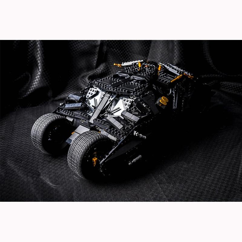 DC Dark knight THE TUMBLER LegoINGlys 76023 Bat man Model Building Block Set Kids Brick Toy