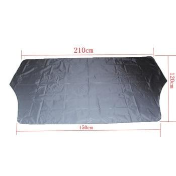 Car Sunshade Black 1pcs 150 x 120cm Block Shields Windshield Cover Fornt Rear Snow Ice Protector Visor Sun Shade|Car Covers| |  -