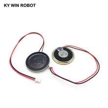 2pcs/lot New Ultra-thin speaker 4 ohms 2 watt 2W 4R Diameter 40MM 4CM thickness 5MM with PH2.54 terminal wire length 20C
