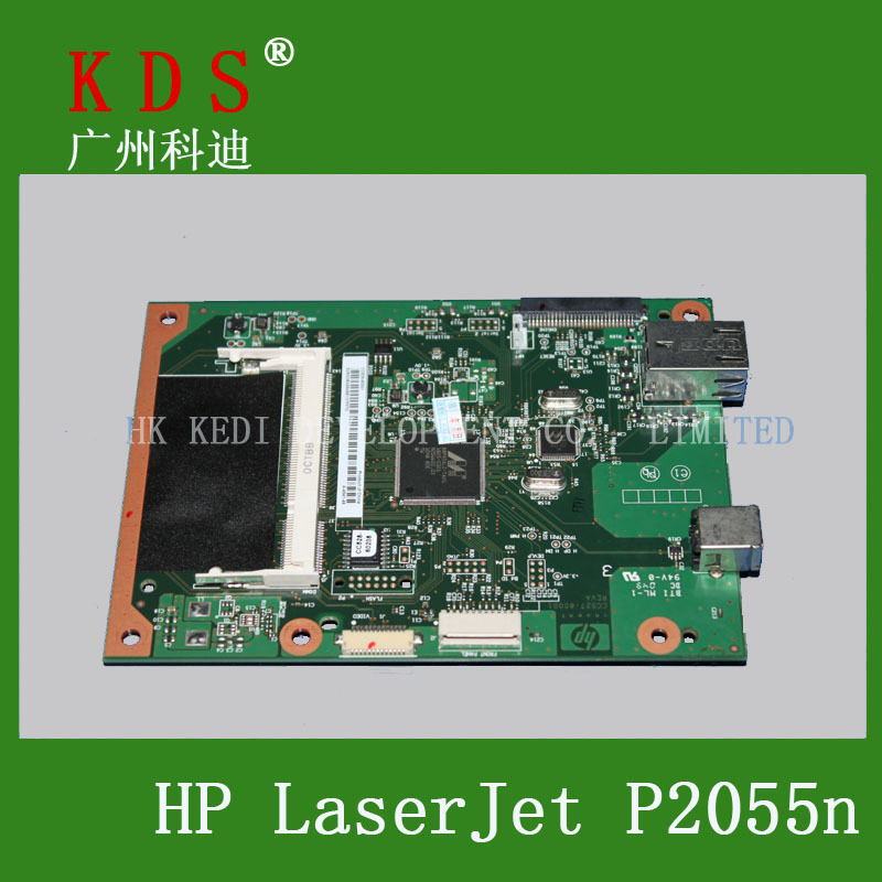 CC528-60001 motherboard for hp laserjet P2055DN network mainboard 5pieces/lot