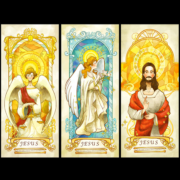 Stained religious drawing glass film fashion multicolour grilles stained religious drawing glass film fashion multicolour grilles vintage jesus wardrobe door eco friendly self altavistaventures