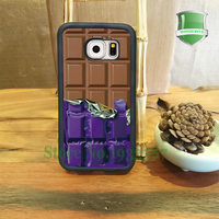 Chocolate Cool New Realistic Accessory Mobile Phone Cases For Samsung S7 S7edge S6 S6edge Plus S5