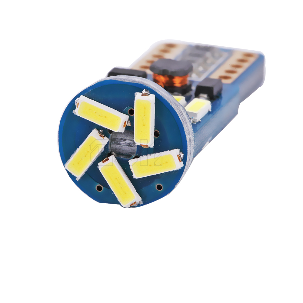 2 հատ հատ T10 led canbus T10 15led 4014 smd LED No OBC Error - Ավտոմեքենայի լույսեր - Լուսանկար 5
