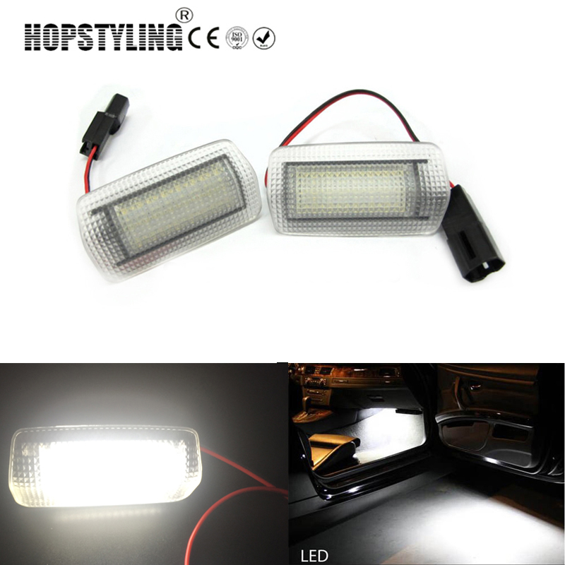 Hopstyling 2Pcs 18SMD Super Bright Led Step Courtesy Lights Footwell Door <font><b>Lamp</b></font> For <font><b>Lexus</b></font> ES350 LX570 LS460 <font><b>RX300</b></font> RX330 image