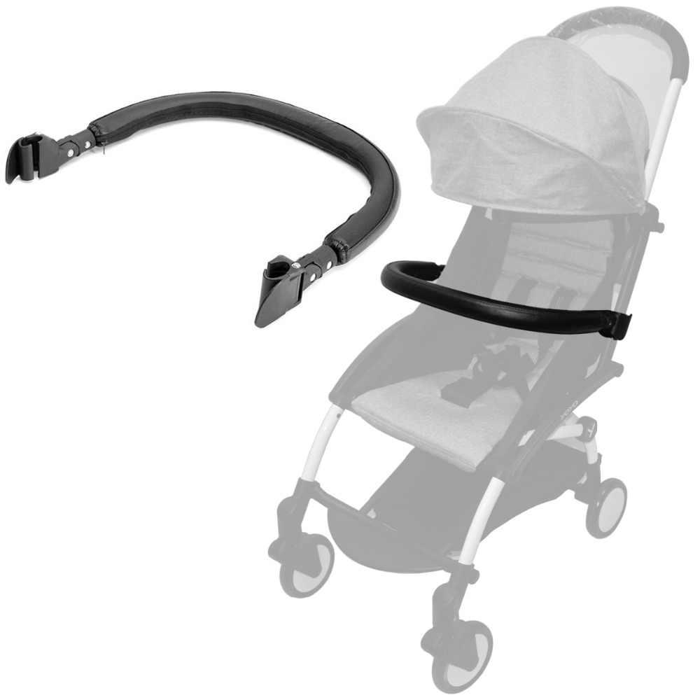 Nowy podłokietnik wózka dziecięcego zderzak Bar uchwyt bezpieczna ręka skórzana pokrywa akcesoria do wózka dziecięcego do Babyzen YOYO YOYO + wózek