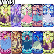 VIYISI Princess For Apple iphone X iPhone 7 5 5S SE 6 6S 8 Plus Phone case Coque Soft Silicone TPU Back Cover Shell Capinha Cell