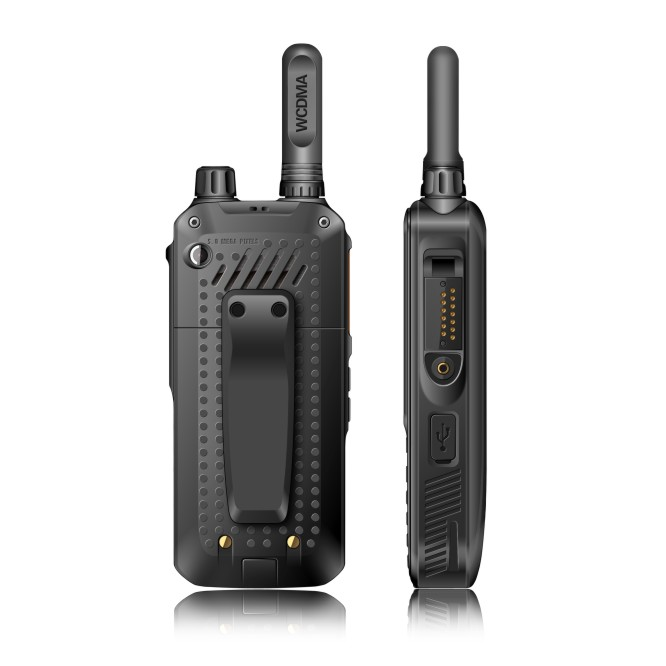 Image 3 - WCDMA 4G walkie talkie android 6.0 system global call intercom transceiver mobile phone radio walkie talkie with accessories-in Walkie Talkie from Cellphones & Telecommunications