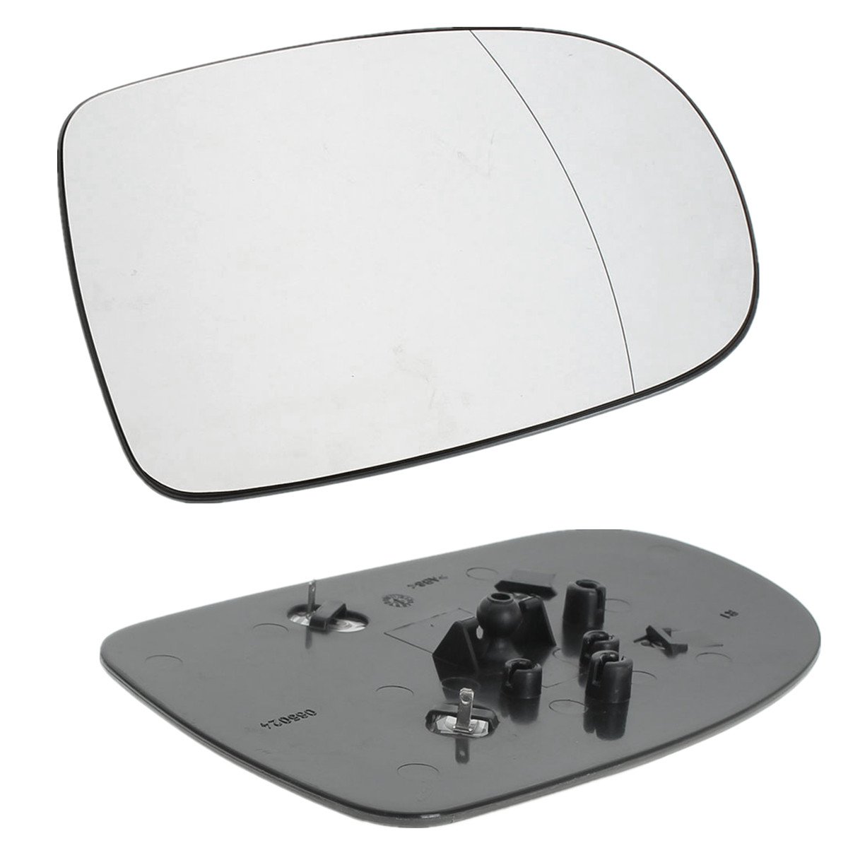 Right Driver Side Heated Wing Door Mirror Glass for VAUXHALL ZAFIRA  2010-2015