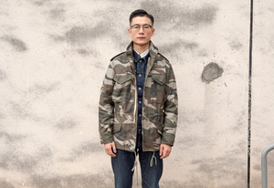 Image 5 - A.C.E. US Army The 1966 M65 Replica Field Trench Coat Camouflage Military Jacket Winter Long Outwear