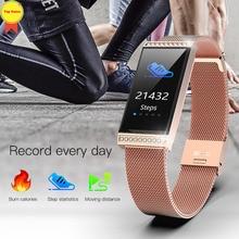 Smart bracelet 2019 Women smart watch pulsera inteligente Fitness tracker IP68 waterproof smart band wristband for ios android