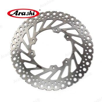ARASHI CNC Front Brake Disc Disks Rotors For HONDA CR E / CR R 125 1995-2008 CRE CR-E CR125E CRE125 CRR CR-R CRR CR125R 2008