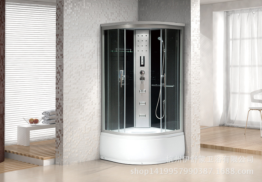 Cheap shower room with bath shower massage shower enclosure glass ...