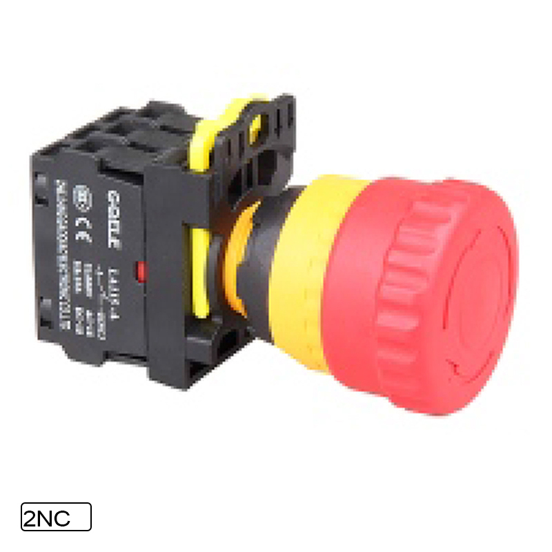 5 PCS Emergency stop pushbutton switch (22-30 aperture) 10A Twist Release Pull Release Waterproof IP65 1NO 1NC 2NO 2NC 3NC [vk] av044746a200k switch pushbutton dpdt 6a 125v switch