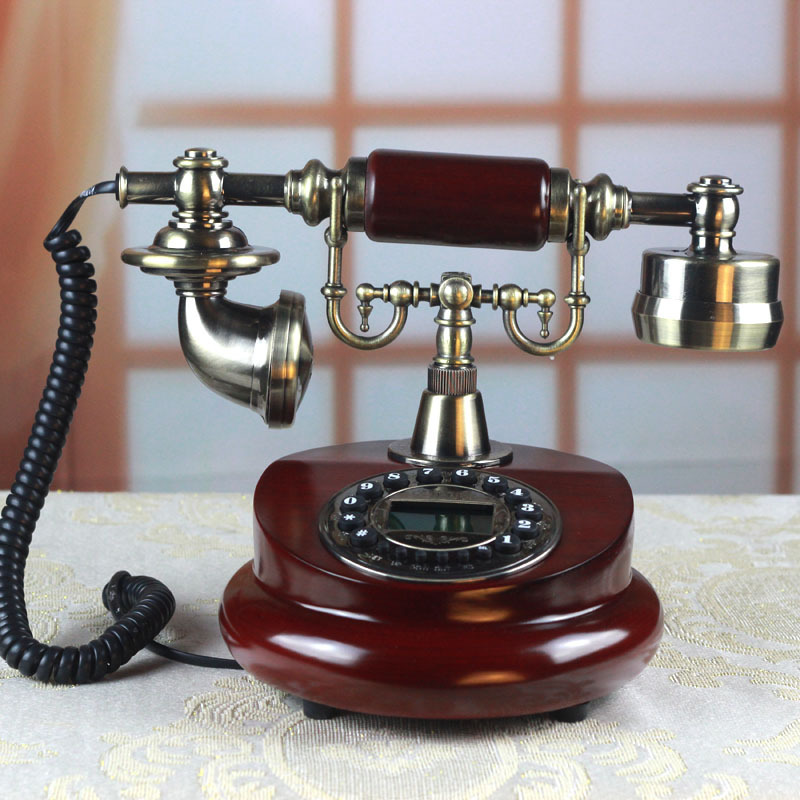 Retro phone home decoration gifts Household items Good luck gift business gifts кашпо gift n home сирень