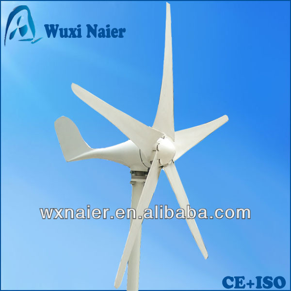 Small 100w wind power generator type wind turbine with CE ISO 2017 hot selling max power small wind turbine wind generator for home street light with ce certificate 3 years warranty