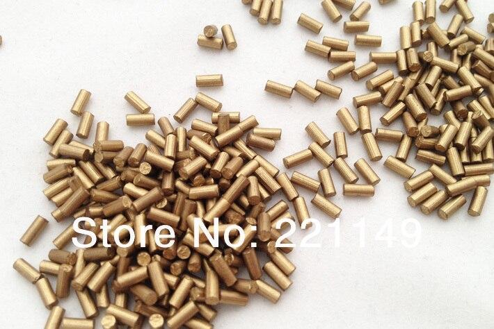 2.2mm * 5mm environ 7900 pièces/PP sac (1 KG). pierre de Flints dorés de haute qualité, accessoires de Flints plus légers. outils de Camping en plein air. - 2