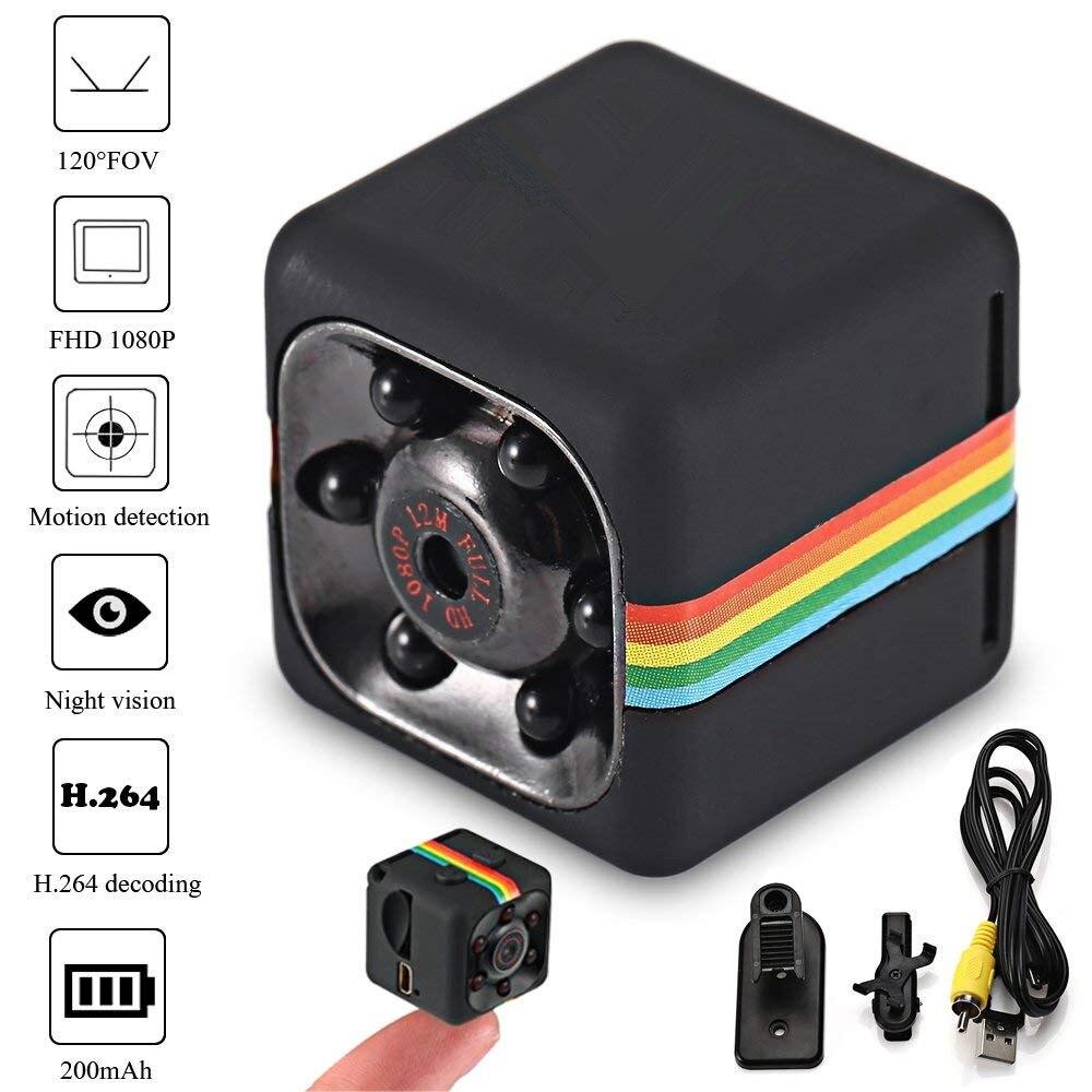 SQ11 HD mini cámara pequeña cam 720 p Sensor de visión nocturna Cámara Micro cámara de vídeo DV DVR Cámara videocámara grabadora de SQ 11