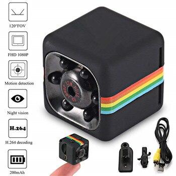 Sq11 hd 미니 카메라 작은 캠 1090 p 센서 나이트 비전 캠코더 마이크로 비디오 카메라 dvr의 dv 모션 레코더 캠코더 sq 11