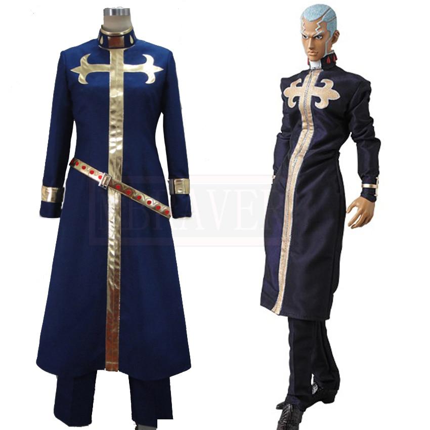 JoJo's Bizarre Adventure Enrico Pucci Cosplay Costume Custom