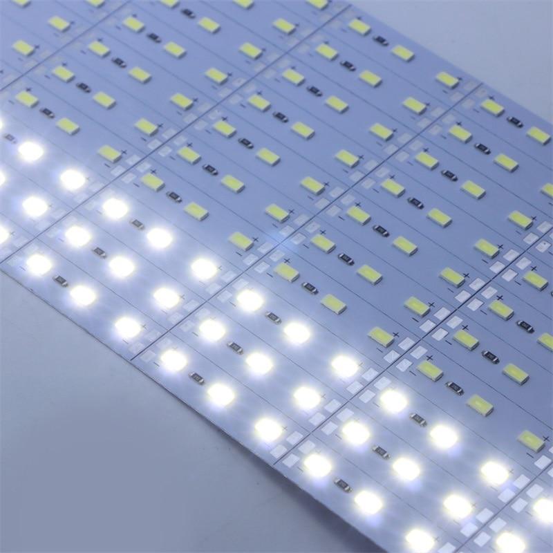 SZYOUMY 100Cm Super Bright SMD 5630/5730 Hard Rigid Bar light DC12V 72 leds Aluminum Alloy Led Strip light For Cabinet 100PCS