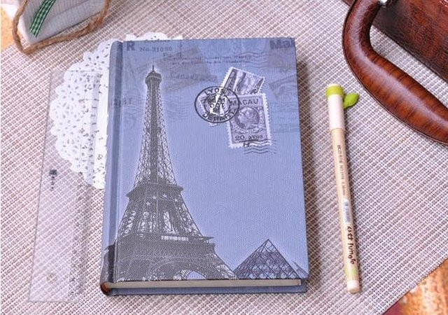 Europa notebook/notepad/ diary book , free shipping, wholesale