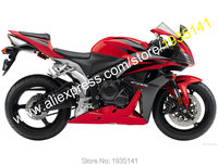 Hot Sales,Customized For Honda CBR600RR F5 20072008 Parts CBR 600 RR Cowling Red/Black Sportsbike Fairing (Injection molding)
