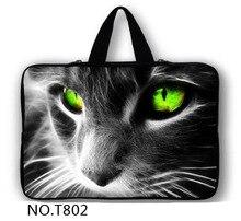 New Zipper Cool Cat Laptop Sleeve Case For Macbook Laptop AIR PRO Retina 11″ 12″ 13″ 14″ 15″ 15.6 17″ inch Notebook Bag