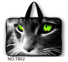 New Zipper Cool Cat Laptop Sleeve Case For Macbook Laptop AIR PRO Retina 11″ 12″ 13″ 14″ 15″ 15.6 17″ inch Notebook Bag