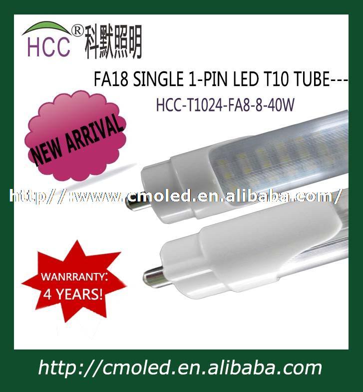 40 W 8ft Fa8 Simple Broche LED T10 Tube